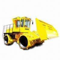 Hydraulic Refuse Compactor with Four Separate Hydrostatic Travel Drive System Manufactures
