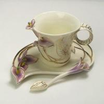 Bone China CCG007(Purple) Coffee Cups Manufactures