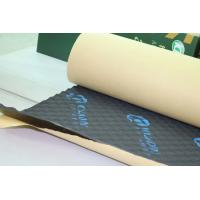 Buy cheap Rubber Foam Sound Absorption Pad Fireproof 8mm Self - Adhesive Insulation Mat from wholesalers