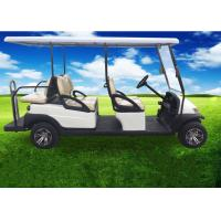 Quality Electric Powered 6 Seater Golf Cart / 6 Passenger Club Car With USA Trojan Battery for sale