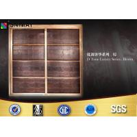 China Customized Bedroom PVC Wardrobe Sliding Door Design Eco Friendly on sale