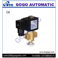 Manually Adjustable Solenoid Air Valve For Natural Gas / Liquefied Gas Energy Saving Manufactures