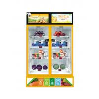 China Smart sense vending machine for snacks, drinks, fruits etc weight sense mini vending on sale