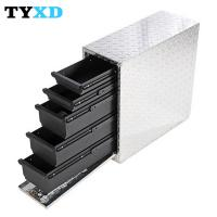 Professional Metal Tool Storage Box , Metal Hand Carry Tool Boxes Manufactures
