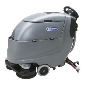 Double Brush Disc Floor Scrubber Dryer Machine , Walk Behind Floor Cleaner Manufactures