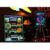 5050 SMD LED Glow Writing Board Full Color SMD For Restaurant Bar Advertising Manufactures