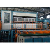 Customized Color Apple Tray Machine / Automatic Egg Tray Machine Manufactures