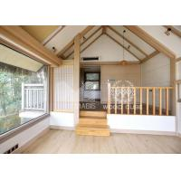 Sandwich Wall Panel Prefabricated Wooden Houses Convenient Relocation Eco Friendly Manufactures