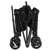 China Four Wheels Garden Tools And Equipment ,  Aluminium Folding Wagon With Steel Brakes on sale