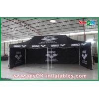 China Aluminum Frame Folding Waterproof Tent  / Black Giant Outdoor Tent on sale