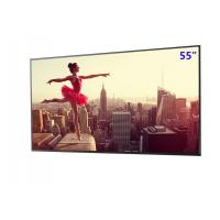 Quality 55inch Commercial 2500 Nits High Brightness Advertising Machine LCD Panel for sale