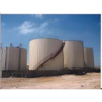 Big Volume Bitumen Storage Tank With Hot Oil Coils And Nature Gas Drive Boiler Manufactures