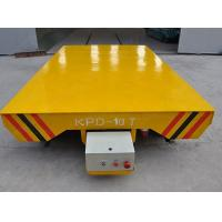 China Platform Structure Electric Transfer Cart 0-30 m/min Adjustable Running Speed on sale
