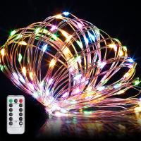 China 13 Key IR Remote Control 3*AA Battery Operated LED String Lights For Christmas, Party, Festival Decoraction on sale