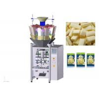 Double Servo Motor Automatic Packing Machine , High Speed Cheese Packaging Machine Manufactures