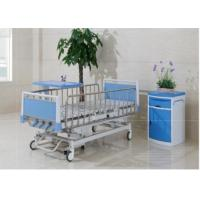 China Multi Function Manual Hospital Pediatric Hospital Beds With Four Cranks on sale