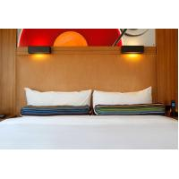 HPL Laminate plywood hotel furniture liquidators Guest rooms Wood Headboards with Wall panels Manufactures