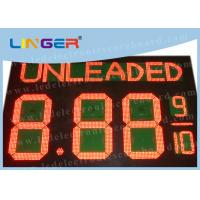 Electronic LED Gas Price Sign With Wireless Controller Box Easy Installation Manufactures