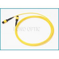 Single / Multi Mode MPO Fiber Optic Cable With LSZH Outer Jacket IEC Standard Manufactures