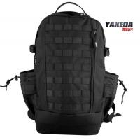 Black Outdoor Tactical Day Pack Backpack , Lightweight Travel Daypack Manufactures
