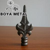 China Wrought Iron Fence Finials on sale