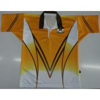 Coolmax Fabric Cricket Team Jersey All Over Printing Logo Never Fade Quick Dry Material Manufactures