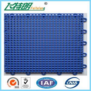 Outdoor Interlocking Polyurethane Sports Flooring 350g / pc PU Hard Flat Surface Manufactures