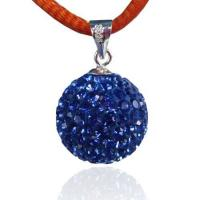 Fashion 925 Silver Crystal Ball Pendant Manufactures