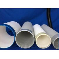 Industrial Safety Pvc Flexible Ducting / Portable Air Conditioning Duct Anti - Static Manufactures