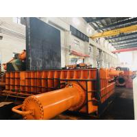 Buy cheap Large Press Box Size Color Customized PLC Control Operation Baling Press Machine from wholesalers