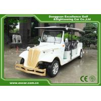 EXCAR 8 Passenger Electric Classic Cars 72V Battery Electric Vintage Car Manufactures