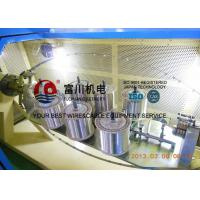 High Productivity Copper Wire Bunching Machine For Twist 19 Pcs Wires One Time Manufactures