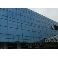 Quality Grey Color Aluminium Curtain Wall Commercial Building Building Curtain Wall for sale