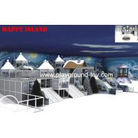 Snow Castle Theme Indoor Playground Equipment For Recreational Large Children Commercial Park Manufactures