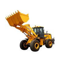China 3.5m³ XCMG Wheel Loader LW600KN Heavy Equipment Road Construction Machinery With Guide Control on sale
