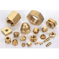 OEM high precision brass hexagon nuts made in China Manufactures