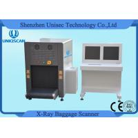 ISO1600 Film Duel View SF6550D Baggage Scanner 38AWG , 40mm Steel Penetration Manufactures