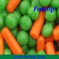 China Canned Green Pea+Carrot Mixed Vegetable on sale