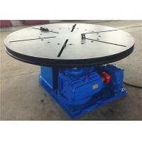 Turning Table Benchtop Welding Positioners With 3 Phases AC Power Source Manufactures