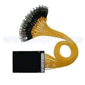 China Low insertion loss FBT Optical Fiber Tri - Window Broadband Splitter for FTTH, Local loop on sale