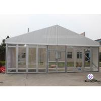 China Windproof Aluminum Wall Tent Frame Steel Frame With Plating Processing on sale