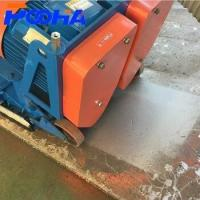Floor Shot Blasting Machine 0.5 - 23 M/Min Traveling Speed Blue Color Manufactures