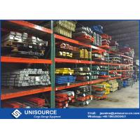Carbon Steel Industrial Pallet Shelving , Easy Assembly Pallet Racking For Warehouses Manufactures
