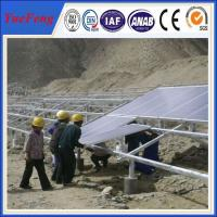 Ground mounted solar power plant project, solar mounting structure Manufactures