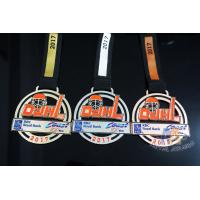 Gold Silver Copper Baseball Award Medals Sports Medallions Die Cast Process Basketball Medals Manufactures