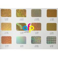 Quality Superb Paper Hot Stamping Foil 640mm * 120m Size Roll 16 Micron Thickness for sale