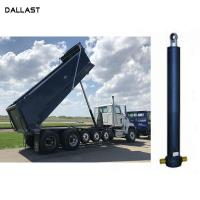 China Telescopic 3 / 4 / 5 Stage Lifting Hydraulic Oil Cylinder for Dumper Tipper on sale