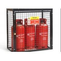 China Small Gas Cylinder Cages Propane Tank Storage Easily Assembled / Dissembled on sale