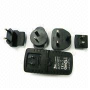 UL, UK, EU, AU interchangeable plug 3V - 24V 4A Universal AC Power Adapter / Adapters Manufactures