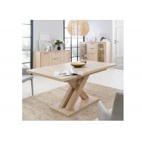Apartment / Hotel Rectangle Modern Contemporary Dining Table Melamine Finishing Manufactures